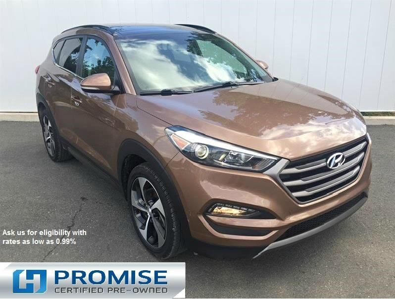 2016 hyundai tucson limited awd 1.6l turbo used for sale in truro at