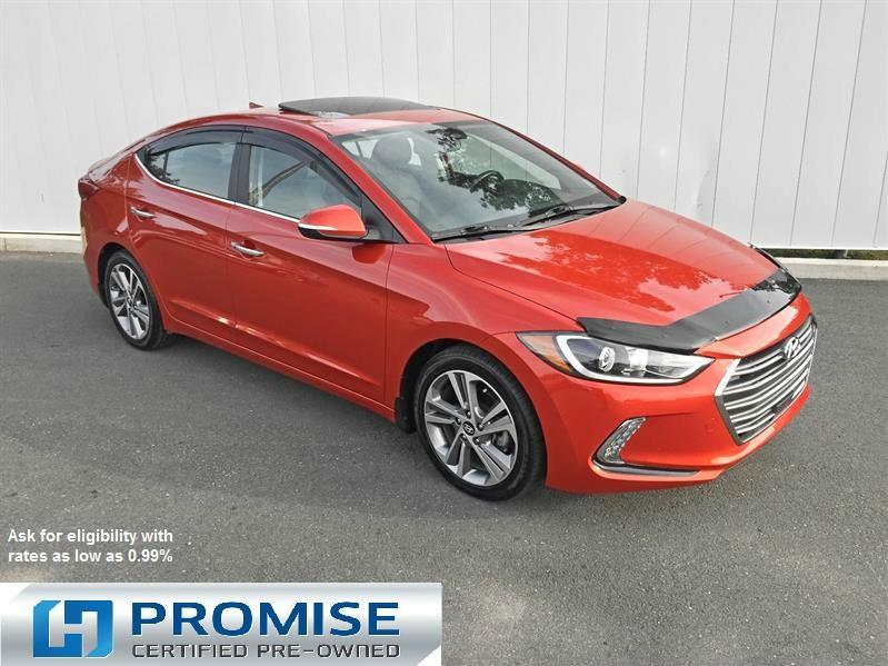 2017 Hyundai Elantra Limited Ultimate #K1237A