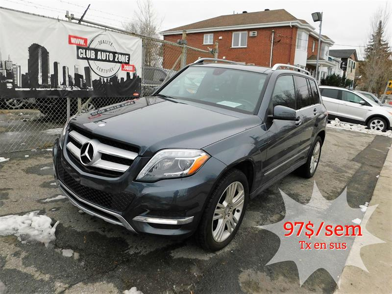 Mercedes-Benz GLK-Class 2015 BLUETEC AWD AUTOMATIQUE TOIT PANORAMIQUE  #FG385696