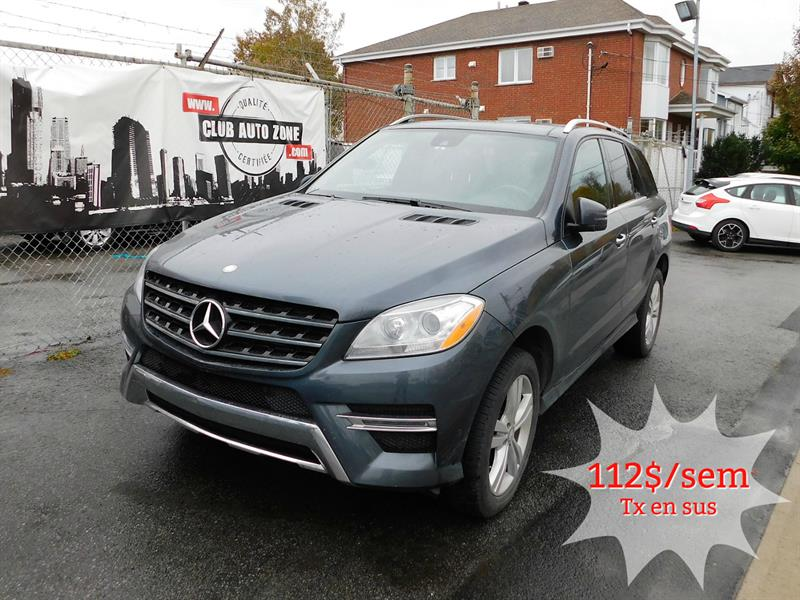 Mercedes-Benz M-Class 2013 ML350 BLUETEC AWD AUTOMATIQUE TOIT PANORAMIQUE  #DA251694