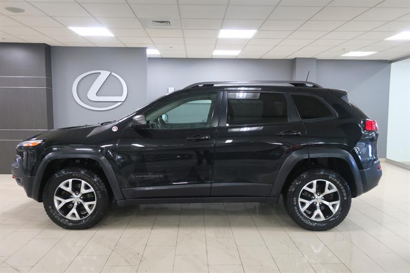 Jeep Cherokee 2016 4WD Trailhawk CUIR GPS PANO #15010A
