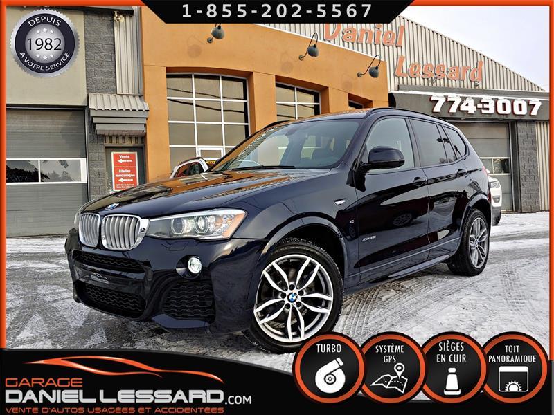 BMW X3 2015 AWD XDRIVE 35i, * M * TOIT PANO, GPS, CUIR,  #58291