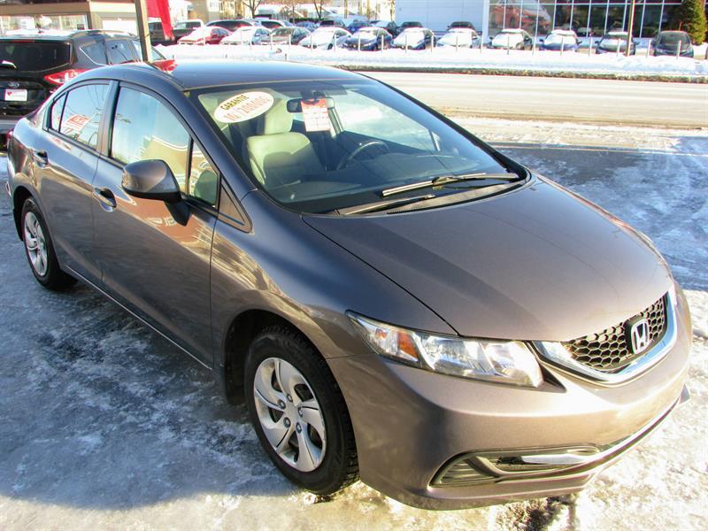 Honda Civic 2013 LX **AUTOMATIQUE** #181166A
