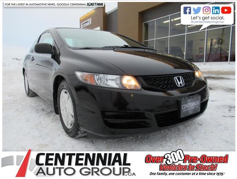 2009 Honda Civic Cpe DX-G | 5 Speed Manual | LOW LOW KMS #U3188