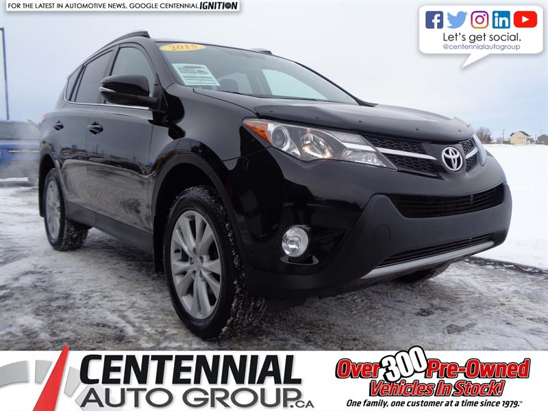 2015 Toyota RAV4 Limited | AWD | One Owner | Local Trade | #S18-241A