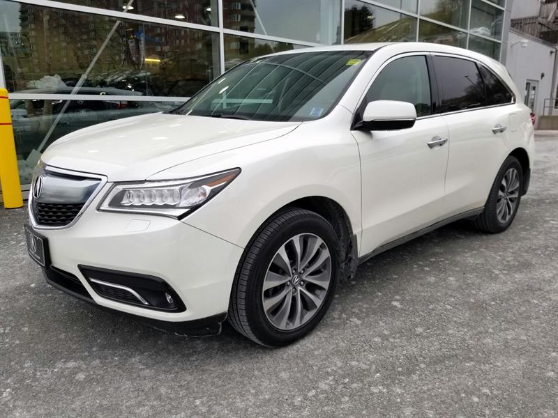 Acura MDX 2016 Navigation Package #92356A