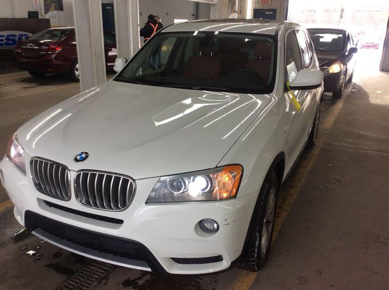 BMW X3 2012 4WD*TRÈS PROPRE* ONE OWNER* $49 SEMAINE #2165 NO ACCIDENT