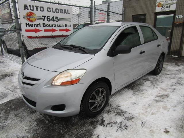 Toyota Yaris 2007 4dr Sdn,AUTOMATIQUE,109 000KM EXTRA PROPRE #19-005