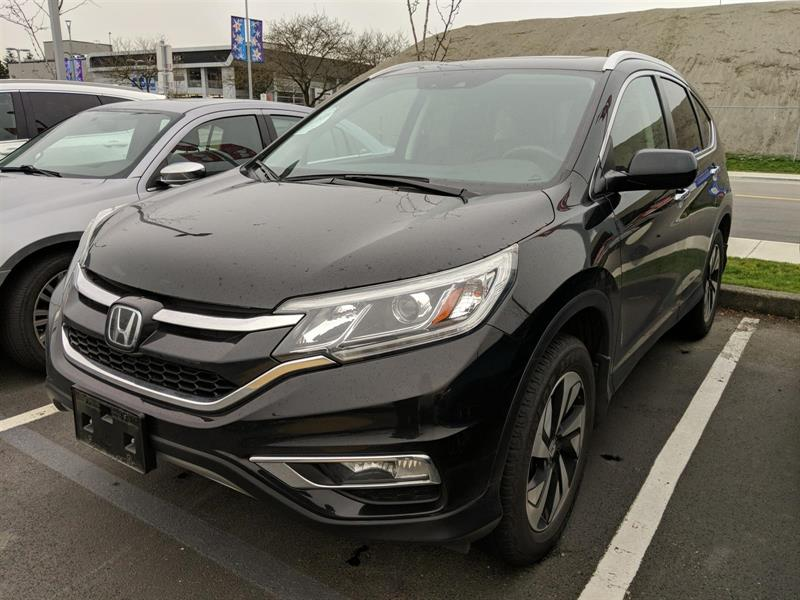 2016 Honda CR-V Touring AWD! Honda Certified Extended Warranty to  #LH8487
