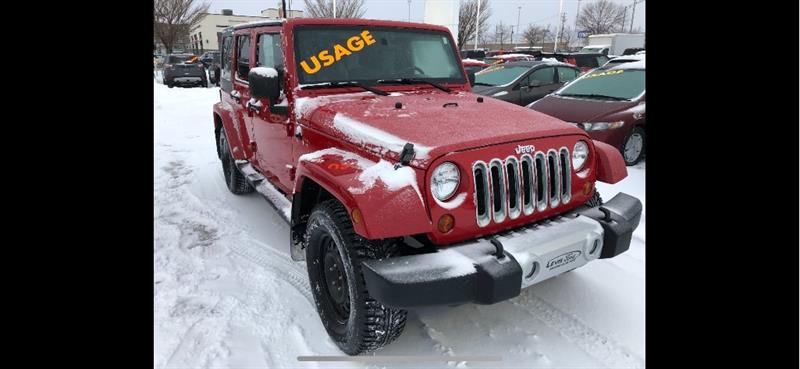 Jeep Wrangler Unlimited 2010 - #13919G