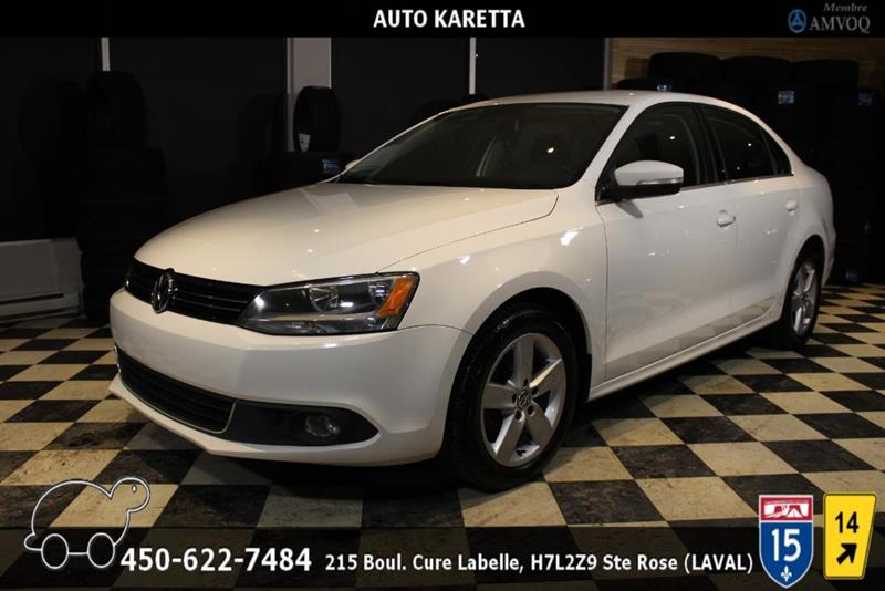 Volkswagen Jetta 2013 TDI, COMFORTLINE, SIEGES CHAUFFANT, A/C, MAGS #AS8153