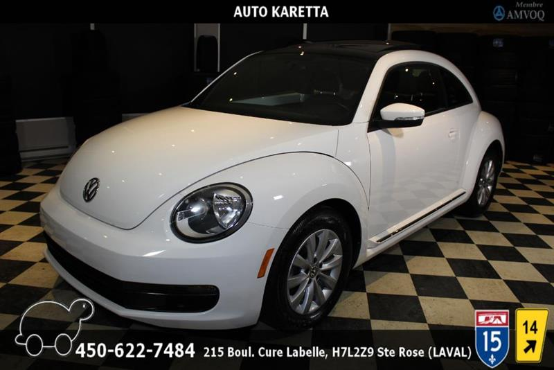 Volkswagen Beetle 2013 TDI, COMFORTLINE,TOIT,SIEGES CHAUFF, A/C, MAGS #AS8238