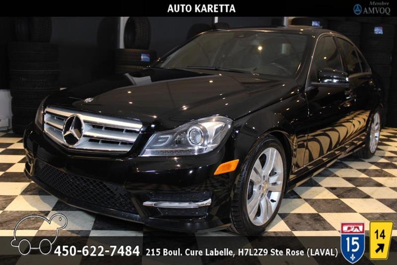 Mercedes-Benz C-Class 2012 C 300 4MATIC/AWD, XENON, TOIT OUVRANT, BLUETOOTH #AS8375
