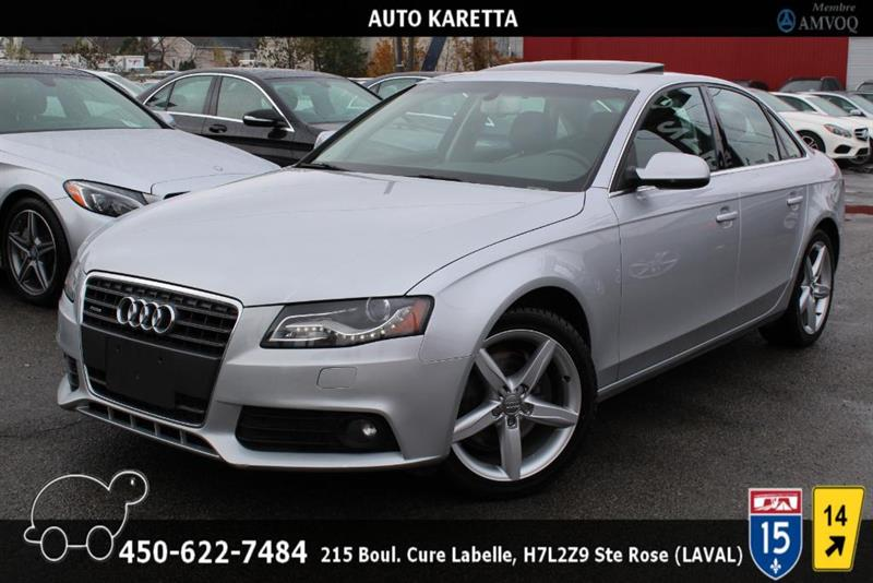 Audi A4 2012 QUATTRO PREMIUM PLUS XENON, NAVI, TOIT, CAMERA #AS8357