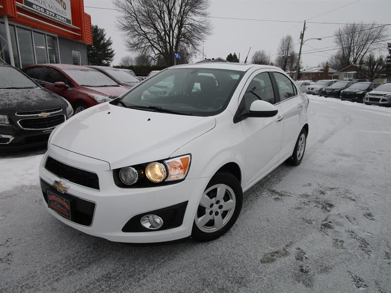 2014 Chevrolet Sonic 4dr Sdn LT Auto #2429A