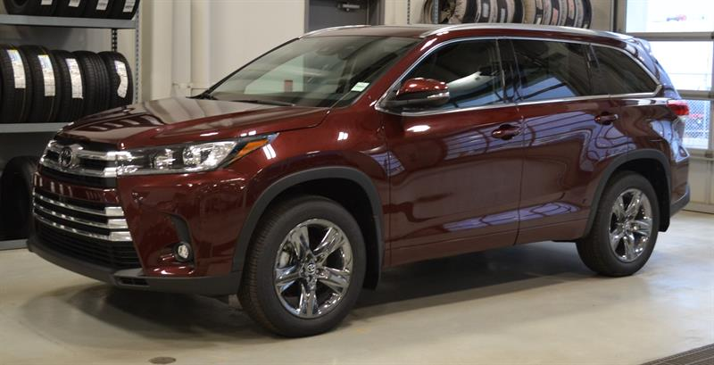 2019 Toyota Highlander AWD Limited #DZ8661