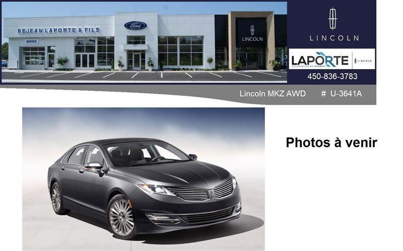 Lincoln MKZ 2014 Ultra #U3641A