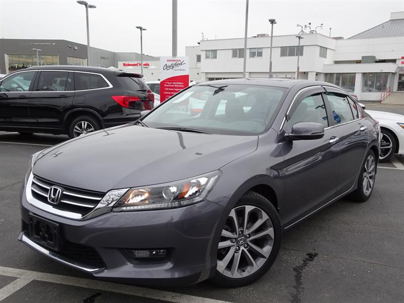 2015 Honda Accord Sedan Sport CVT! Honda Certified Extended Warranty #LH8485