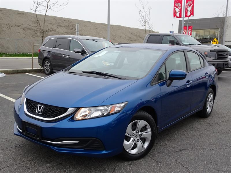 2015 Honda Civic Sedan LX CVT! Honda Certified Extended Warranty to #LH8490