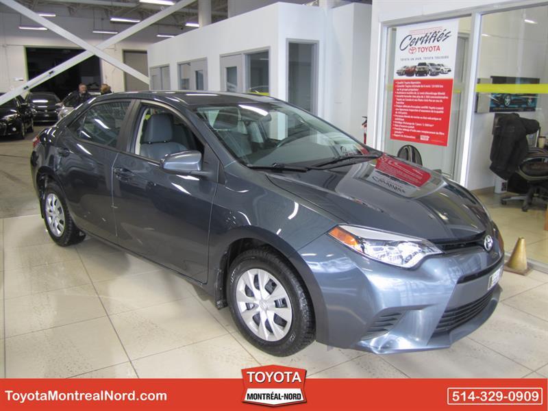 Toyota Corolla 2014 CE/Aut/Ac/Vitres,Portes,Miroirs Electriques #3545 AT