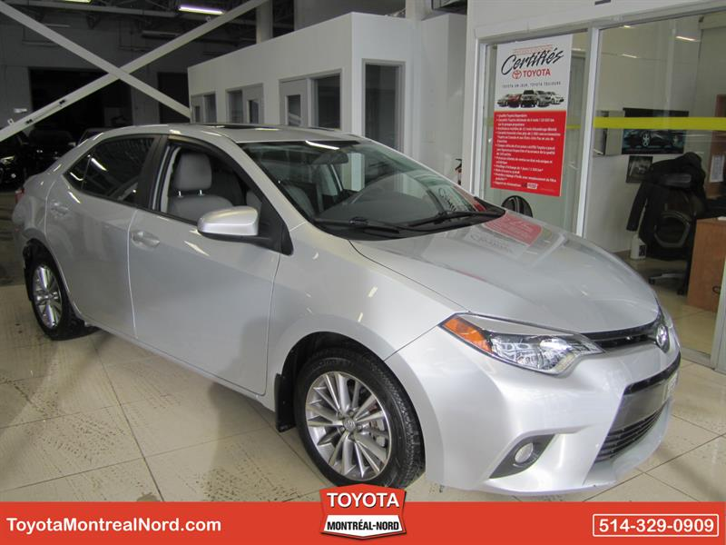 Toyota Corolla 2015 LE CVT GR. AMELIORE Toit+Mags #3525 AT
