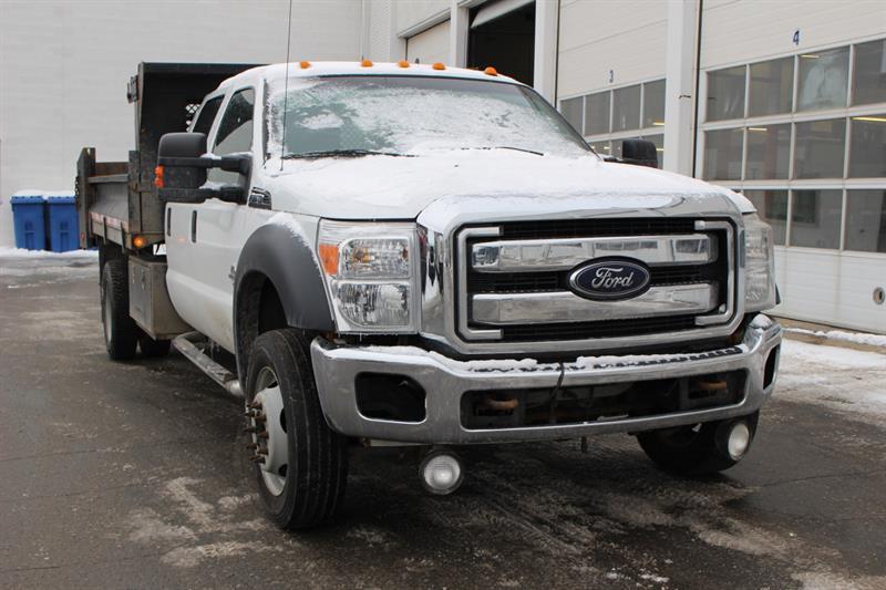 Ford Super Duty F-550 Drw 2012 CrewCab **Diesel** Dompeur #90344b