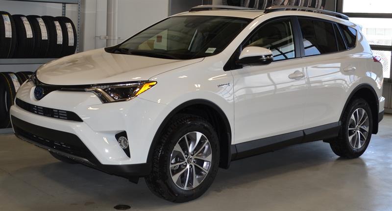 2018 Toyota RAV4 AWD Hybrid LE+ #RJ0902