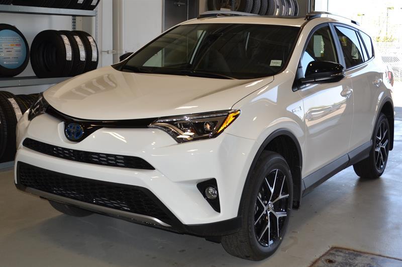 2018 Toyota RAV4 AWD Hybrid SE #JJ4731