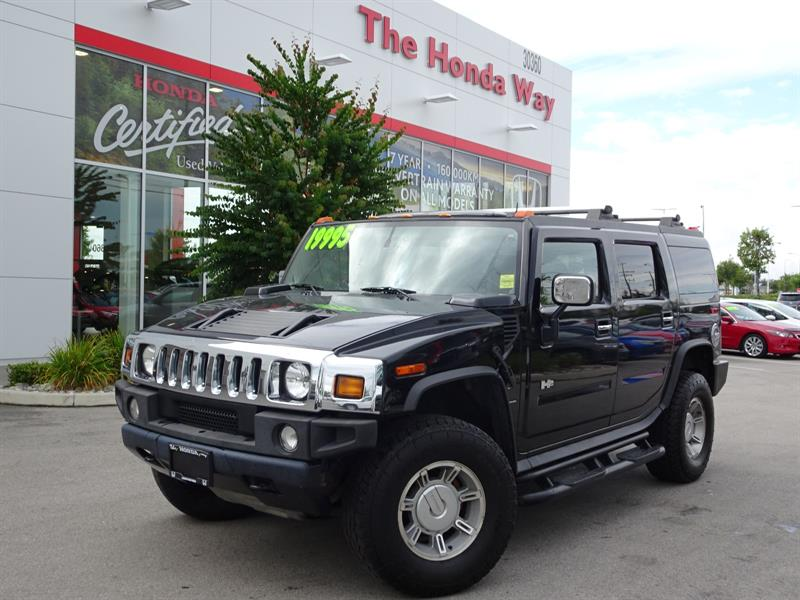 2004 Hummer H2 Sport Utility - POWER FRONT SEATS, LEATHER, HEATED #P5176A