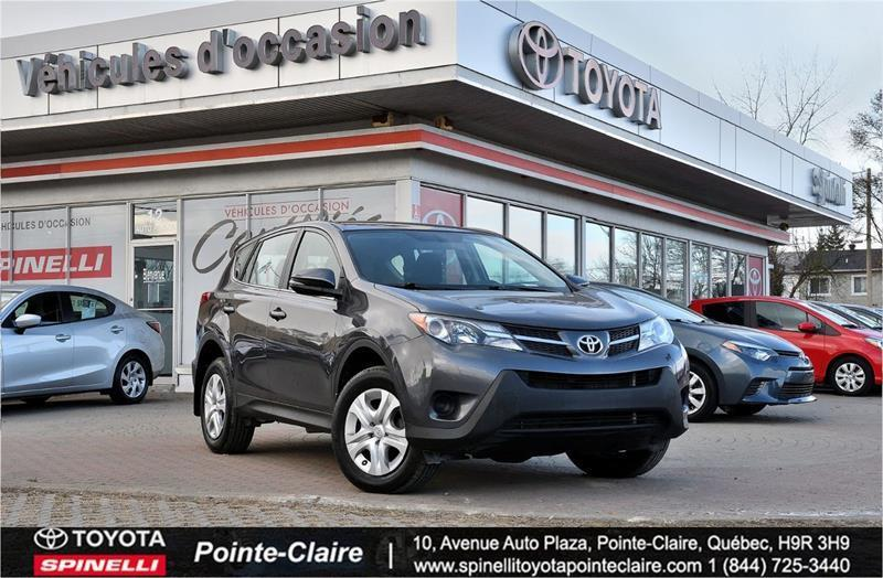 Toyota Pointe Claire >> 2015 Toyota Rav4 Le Awd Used For Sale In Montreal At Credit