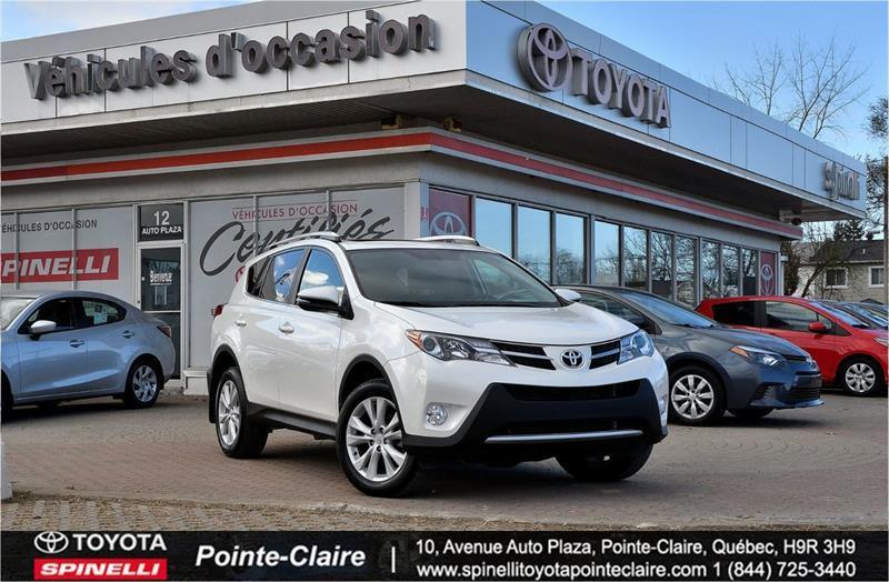 Toyota Pointe Claire >> 2015 Toyota Rav4 Limited Awd Toit Cuir Mags Gps Used For Sale