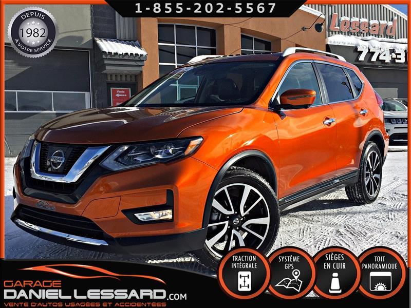 Nissan Rogue 2017 SL, AWD, CUIR, TOIT PANO, GPS MAG 19 P #78567