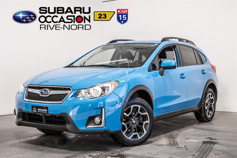 Subaru Crosstrek 2016 Touring MAGS+CAM.RECUL+SIEGES.CHAUFFANTS #S943612