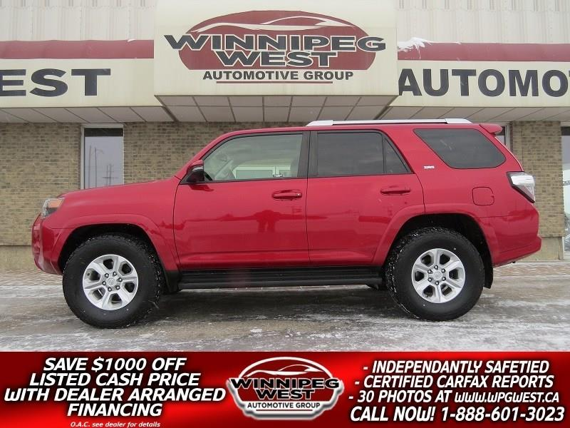 2014 Toyota 4Runner V6 4X4, 7 PASS, LEATHER, ROOF, NAV, SHARP & MINT!! #GIW4820