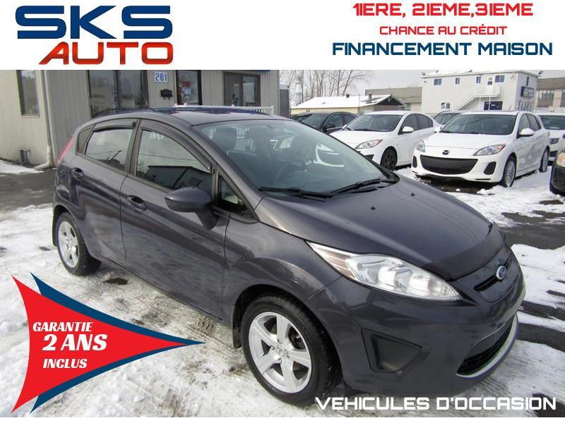 Ford Fiesta 2012 SE (GARANTIE 2 ANS INCLUS) FINANCEMENT MAISON #SKS-4166-10