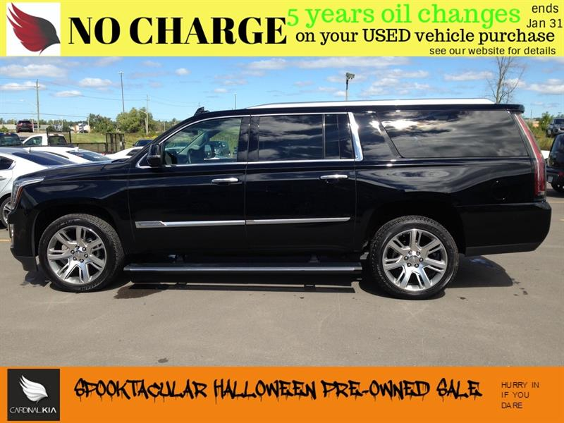 2016 Cadillac Escalade ESV EXTENDED PREMIUM COLLECTION   MOONROOF   LOADED!