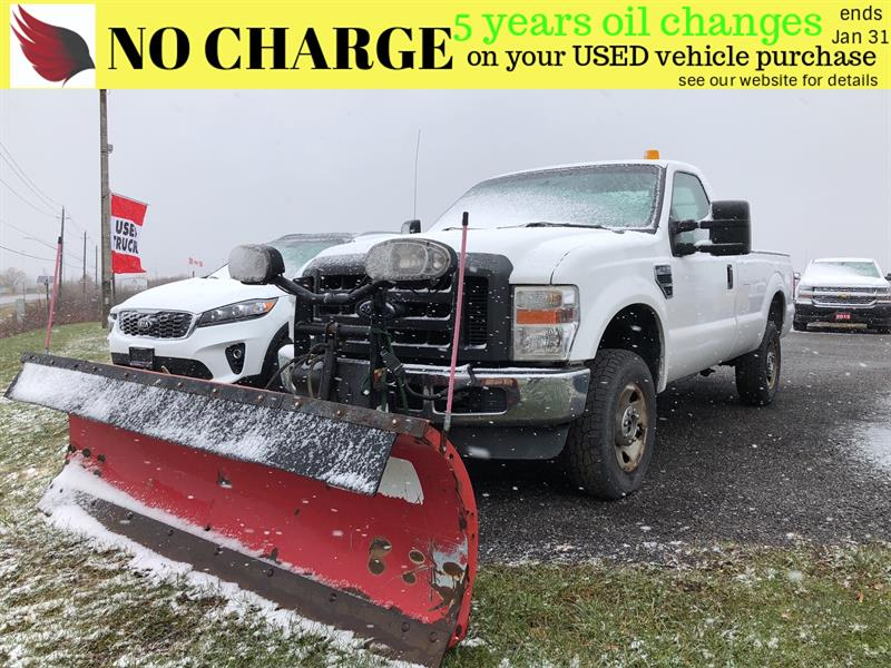 2008 Ford F-250 PLOW AND SALTER INCLUDED #7019A
