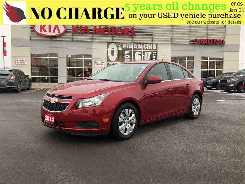 2014 Chevrolet Cruze 1LT*NO ACCIDENTS* #8032