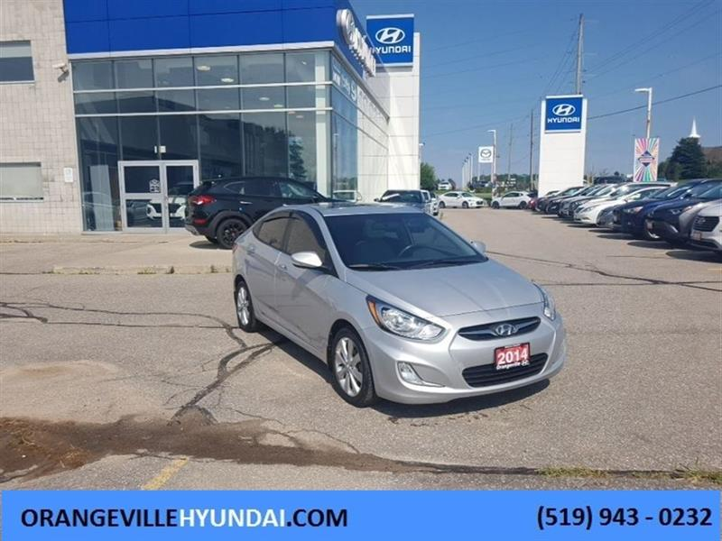 2014 Hyundai Accent Sedan GLS Auto - Sunroof, Trade-in #85092B