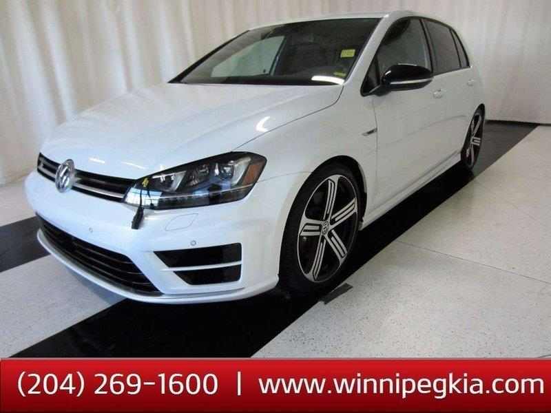 2016 Volkswagen Golf R TECH PACKAGE, 4 MOTION Winter tires on alloy rims #19FR118A