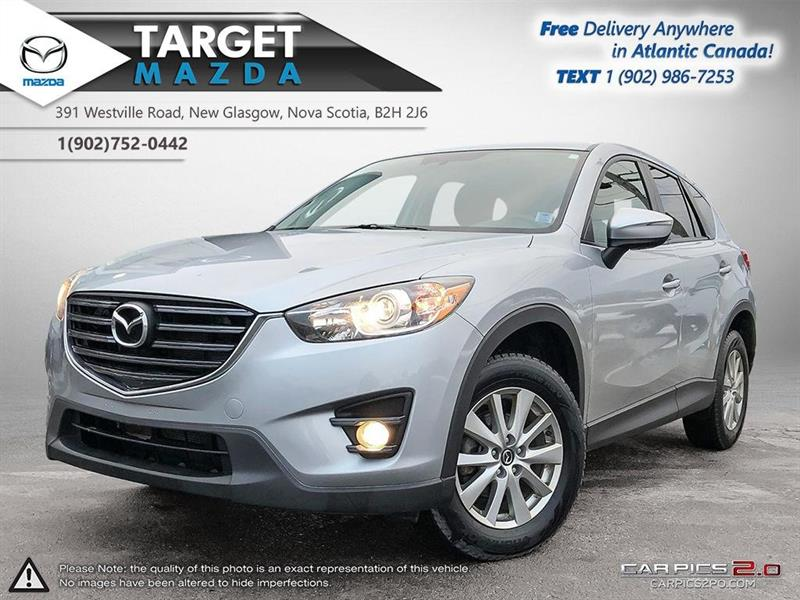 2016 Mazda CX-5 AUTO! A/C! HEATED SEATS! REVERSE CAM! POWER PKG! #U3431