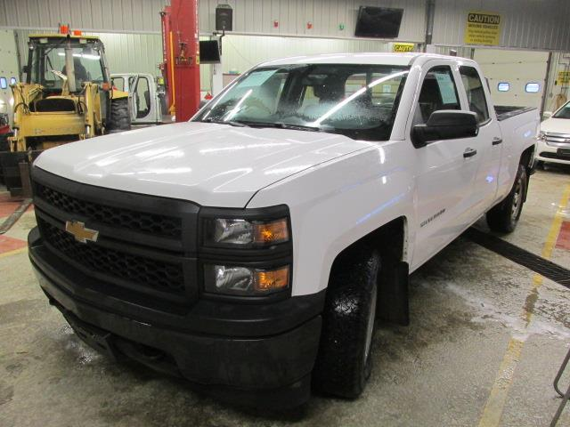 2014 Chevrolet Silverado 1500 4WD Double Cab Standard Box Work Truck #1109-2-30