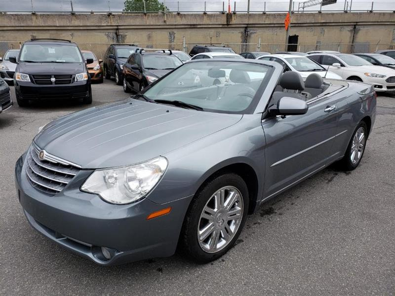 Chrysler Sebring 2008 Limitée CONVERTIBLE 65$ PAR SEMAINE *NAV SIEGE ELE #MD1471