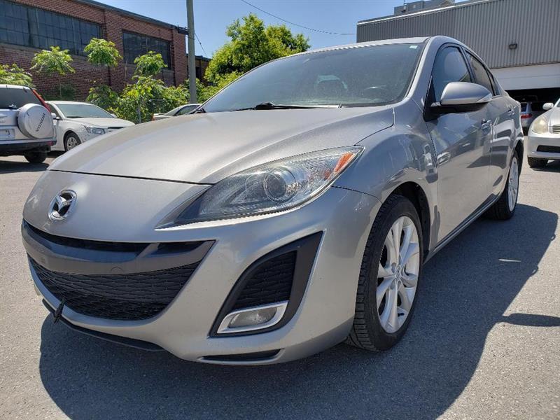 Mazda mazda3 2010 GT SEULEMENT 42$ PAR SEMAINE *SIEGE CUIR ELEC. CHA #MD1483