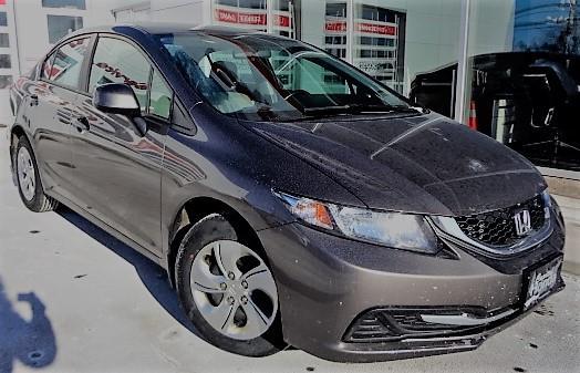 2013 Honda Civic Sdn 4dr Auto LX #J476A