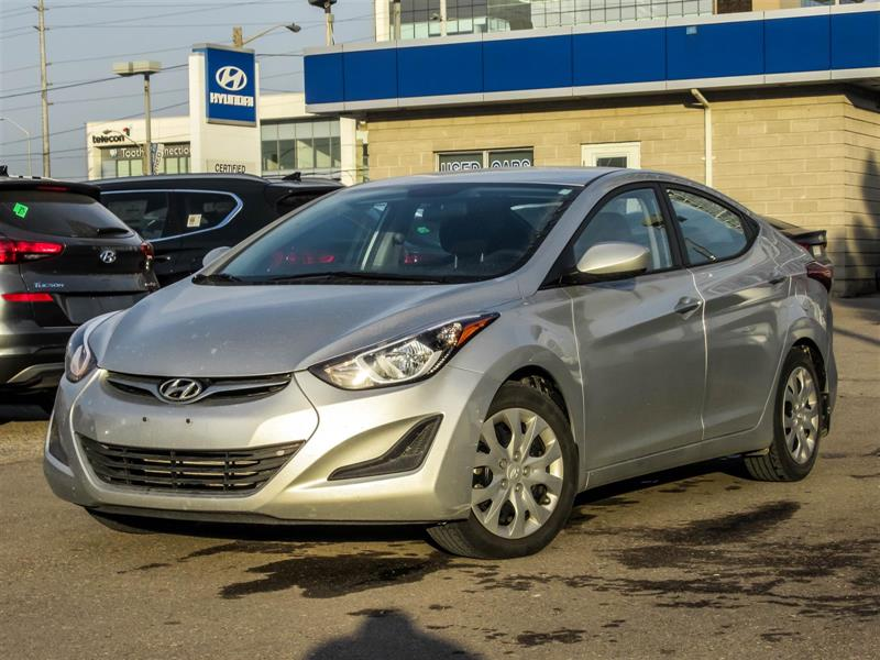 2015 Hyundai Elantra 1 OWNER TRADE IN #78089
