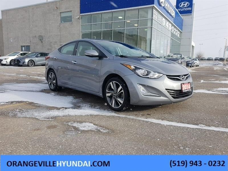 2014 Hyundai Elantra Sedan Limited Auto - Trade-in #83014A