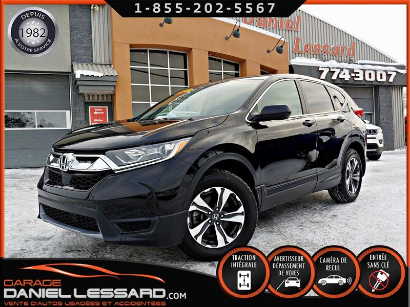 Honda CR-V 2017 LX, AWD, SENSING, CRUISE ADAPTATIF, CAMERA #78486