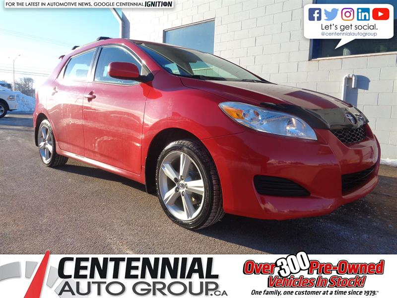 2010 Toyota Matrix AWD #19-004A