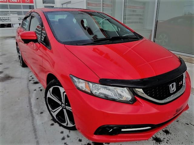 2014 Honda Civic Sedan 4dr Man Si #J525TA